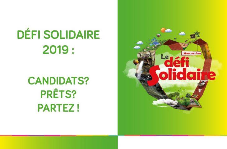 Lancement du Défi Solidaire 2019 : boostez votre projet !