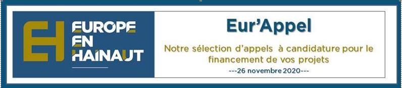 Appel à Projet Fond Européen