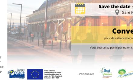 SAVE A DATE CONVENTION D'AFFAIRES ESS EN SAMBRE AVESNOIS