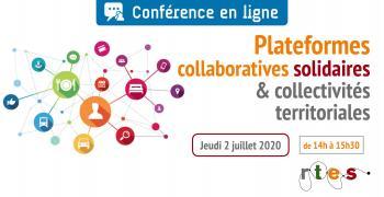 Conférence en ligne – Plateformes collaboratives solidaires et collectivités territoriales