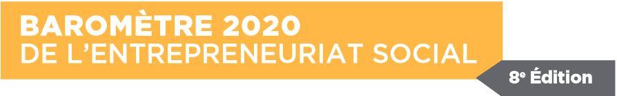 Baromètre 2020 de l'ENTREPRENEURIAT SOCIAL