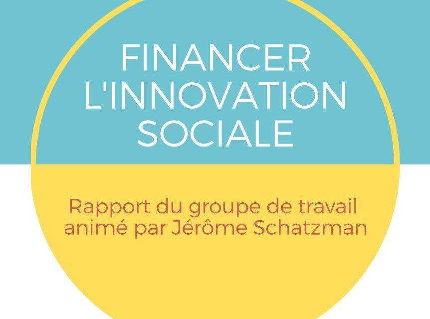 Rapport Schatzman «Financer l'Innovation Sociale»