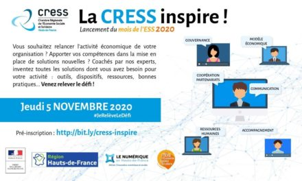 """Pré-inscrivez vous à l'événement """"La CRESS Inspir !"""""""