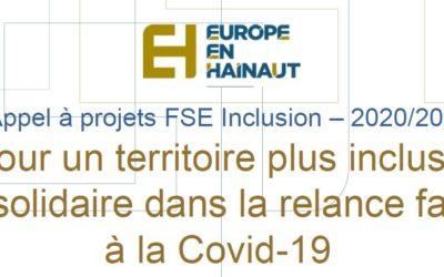 Appel à projet FSE Inclusion 2020-2021
