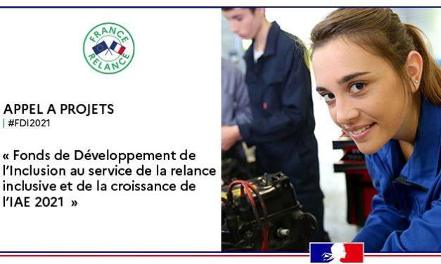 France Relance : Appel à projets Fond Développement de l'Inclusion